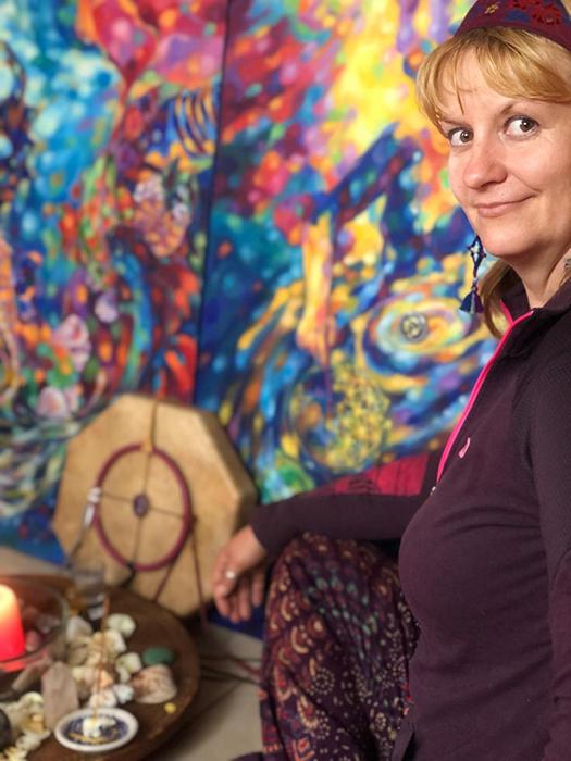 Entrevista a Sasha Samkova integrante de Lewinson Art